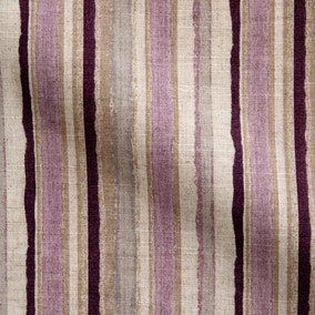 Misty Moors Striped Made to Measure Fabric Sample