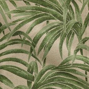 Palm Jacquard Made to Measure Fabric Sample