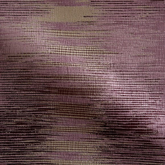 Shimmer Made to Measure Fabric Sample Shimmer Aubergine