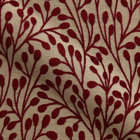Willow Made to Measure Fabric Sample Willow Rosso