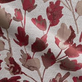 Jacintha Rosso Made to Measure Fabric Sample