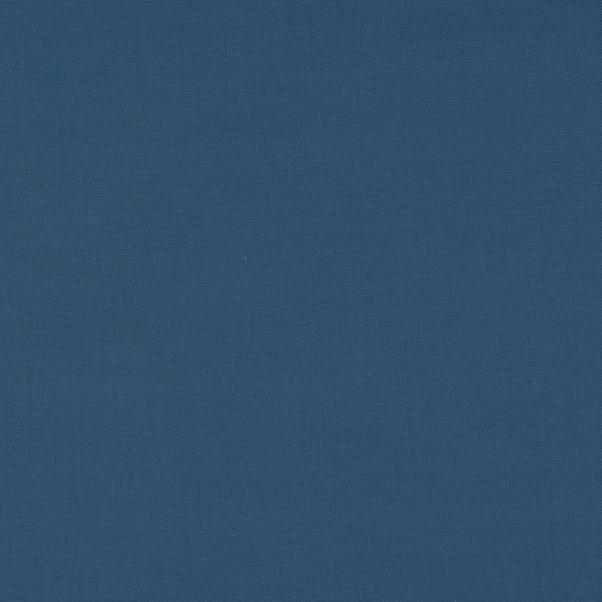 Knightsbridge Plain Panama Fabric Knightsbridge Blue