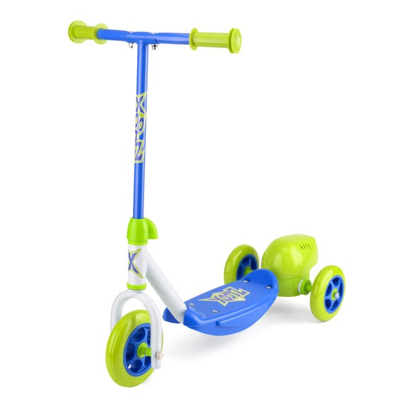 XOOTZ Green Bubble Scooter Blue