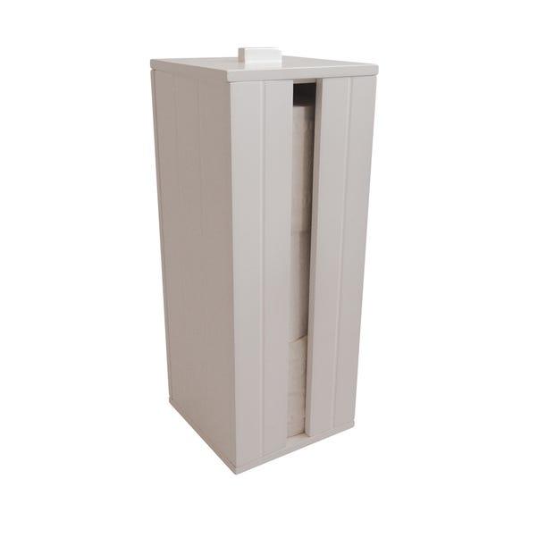 Rimini Toilet Roll Holder White