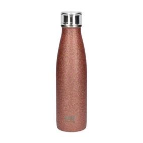 Built Rose Gold Glitter 500ml Stainless Steel Water Bottle