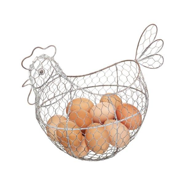 KitchenCraft Egg Basket Silver