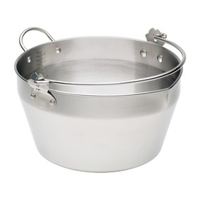 Stainless Steel Masling Pan with Handle
