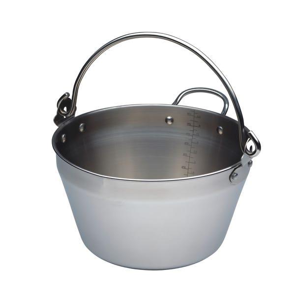 Mini Steel Maslin Pan Silver