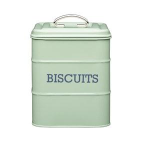 Sage Biscuit Storage Tin