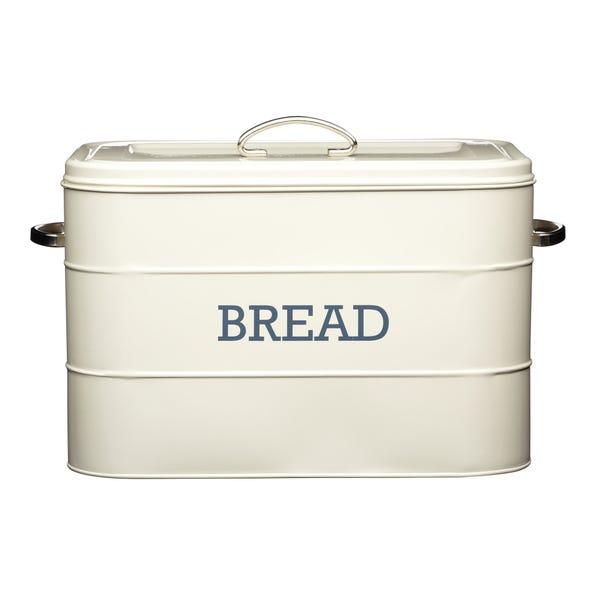 Cream Bread Bin Cream