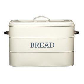 Cream Bread Bin