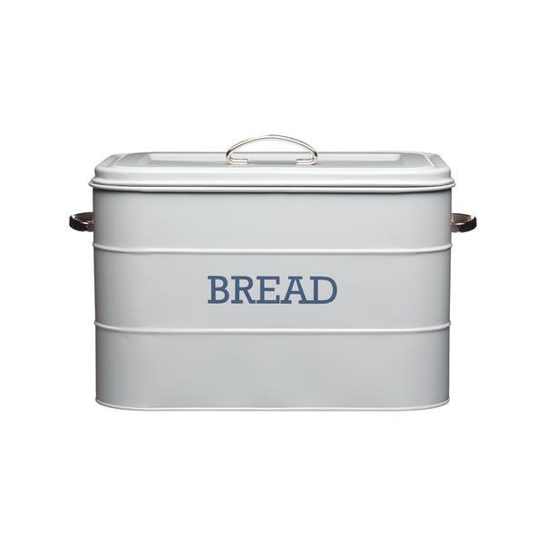 Grey Bread Bin Grey