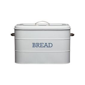 Grey Bread Bin