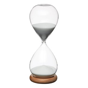 KitchenCraft Natural Elements Hourglass Timer