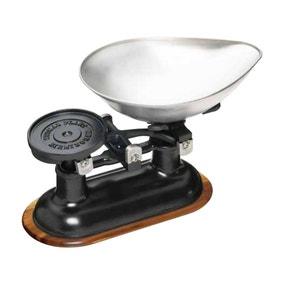 KitchenCraft Black Wood Mechanical Scale