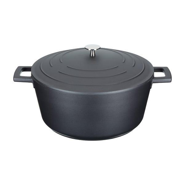 MasterClass 28cm Casserole Dish Black