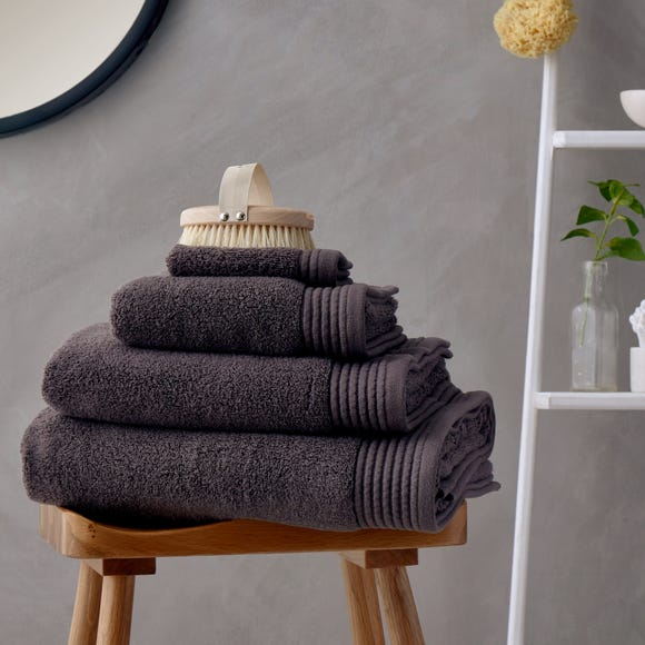 Soft and Fluffy 100% Cotton Charcoal Towel  undefined