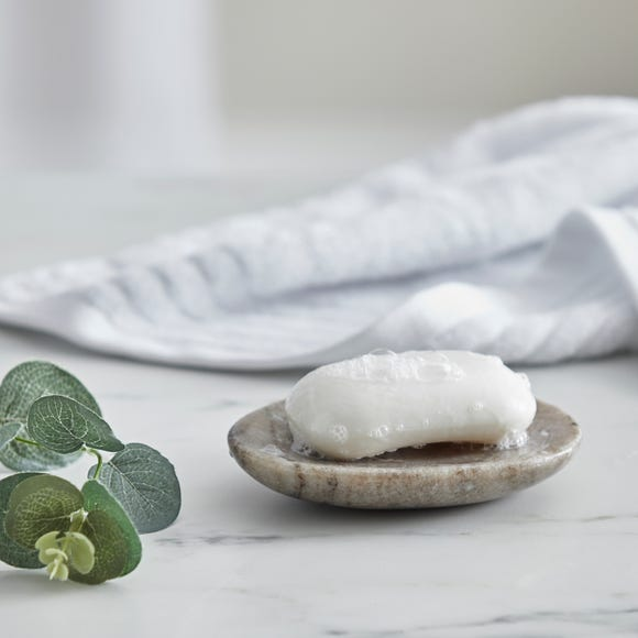 Dorma Purity Marble Natural Soap Dish Natural (Beige)