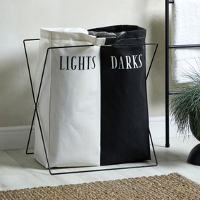 Lights and Darks Laundry Bag