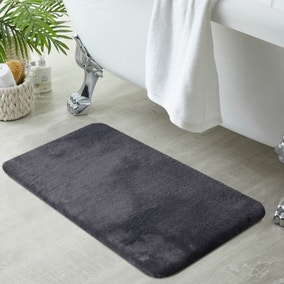 Anti-Bacterial Memory Foam Charcoal Bath Mat