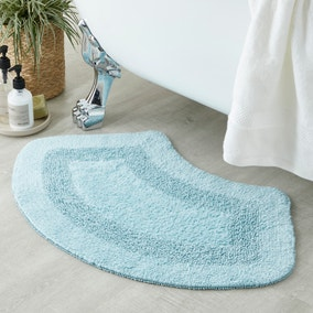 Supersoft Duck Egg Oval Bath Mat