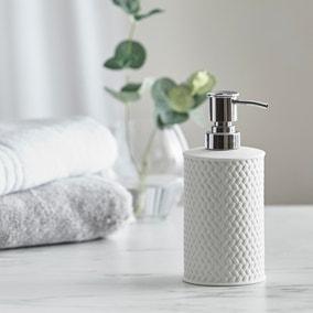 Dorma Purity Porcelain White Lotion Dispenser