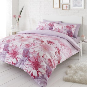 Catherine Lansfield Daisy Dreams Duvet Cover and Pillowcase Set