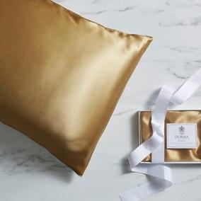 Dorma Gold Silk Pillowcase
