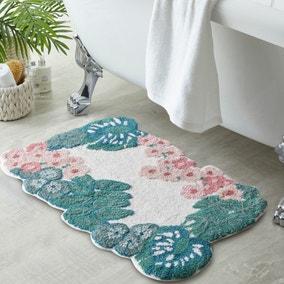 Tropique Green Bath Mat
