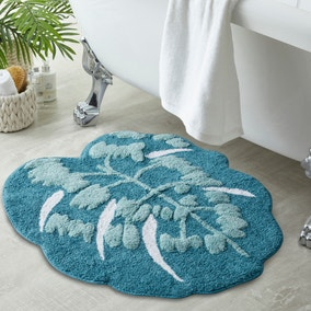 Leaf Green Bath Mat