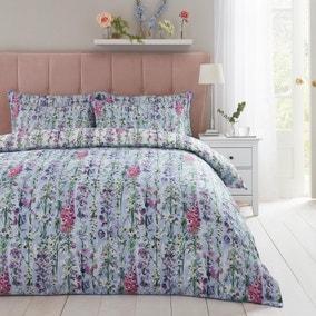 Dorma Country Garden 100% Cotton Duvet Cover and Pillowcase Set