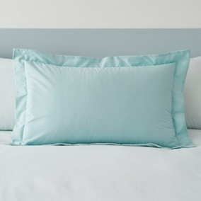 Malvern Seafoam 100% Cotton Oxford Pillowcase