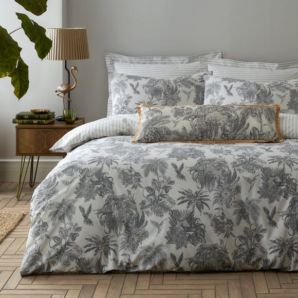 Amazonia Toile Reversible Duvet Cover and Pillowcase Set  undefined