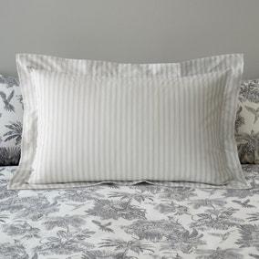Amazonia Toile Grey 100% Cotton Oxford Pillowcase