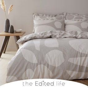 Leif 100% Organic Cotton Duvet Cover and Pillowcase Set
