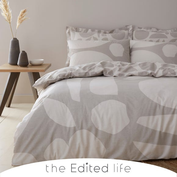 Leif 100% Organic Cotton Duvet Cover and Pillowcase Set  undefined