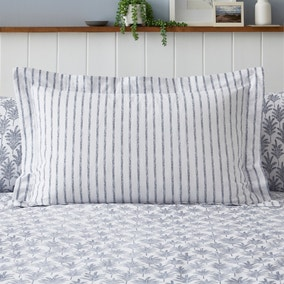 Marina Navy 100% Cotton Oxford Pillowcase