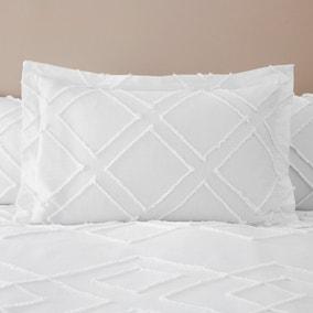 Souk Tufted 100% Cotton Oxford Pillowcase