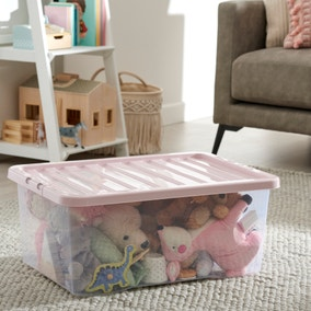 Blush 45L Storage Box