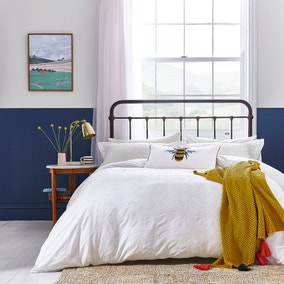 Joules Botanical Bee 100% Cotton Duvet Cover