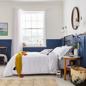 Joules Brightside Striped 100% Cotton Duvet Cover