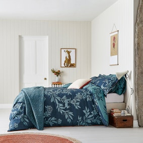 Joules Country Critters 100% Cotton Duvet Cover and Pillowcase Set