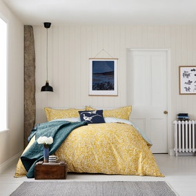 Joules Twilight Ditsy 100% Cotton Duvet Cover and Pillowcase Set
