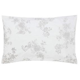 Joules Woodland Floral 100% Cotton Oxford Pillowcase
