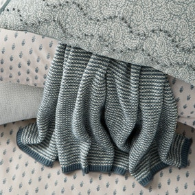 Murmur Edie Lough Green Throw