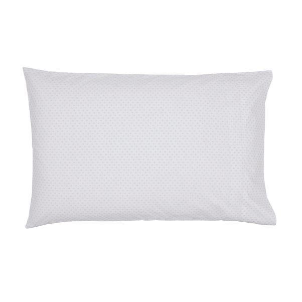 Murmur Rae Heather 100% Cotton Oxford Pillowcase Heather (Purple)