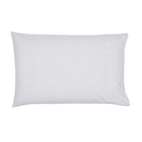 Murmur Rae Heather 100% Cotton Oxford Pillowcase