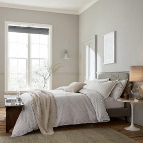 Murmur Thea Linen 100% Cotton Duvet Cover and Pillowcase Set
