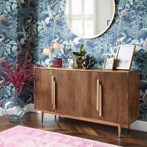 Anya Large Sideboard Brown