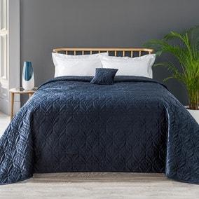 Stem Velvet Bedspread